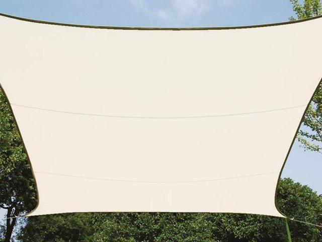 Perel Rechteckig 4 x 3 m  beige