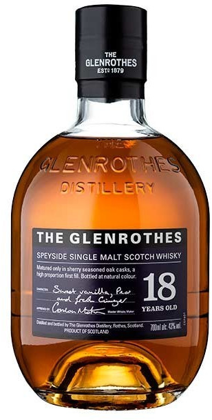 Image of Glenrothes Single Malt Scotch Whisky 18 years 0,7l 43%