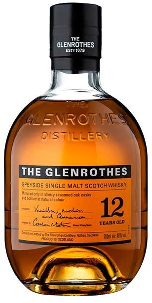 Image of Glenrothes Single Malt Scotch Whisky 12 years 0,7l 40%