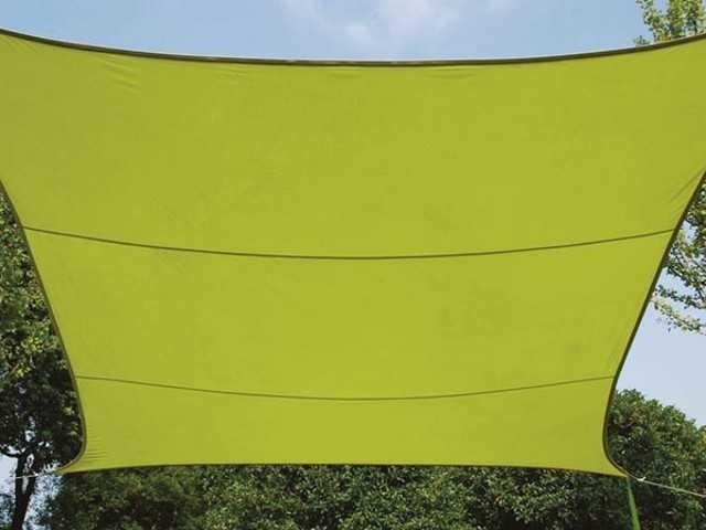 Perel Rechteckig 4 x 3 m lime grün