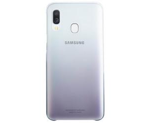 Coque Samsung Galaxy A40 Rigide Design Dégradé Original Noir et Transparent
