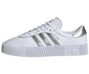 check out best loved finest selection Adidas Sambarose Women ftwr white/silver met./core black ab ...