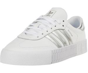Turnschuhe EE9017 SAMBAROSE Weiß silber, Adidas ee9017