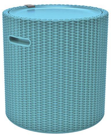 Keter Kühlbox und Hocker Cool Stool türkis