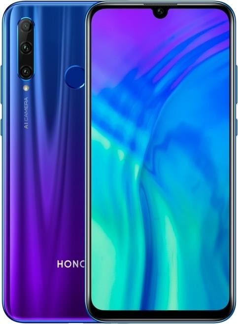 Honor 20 lite azul
