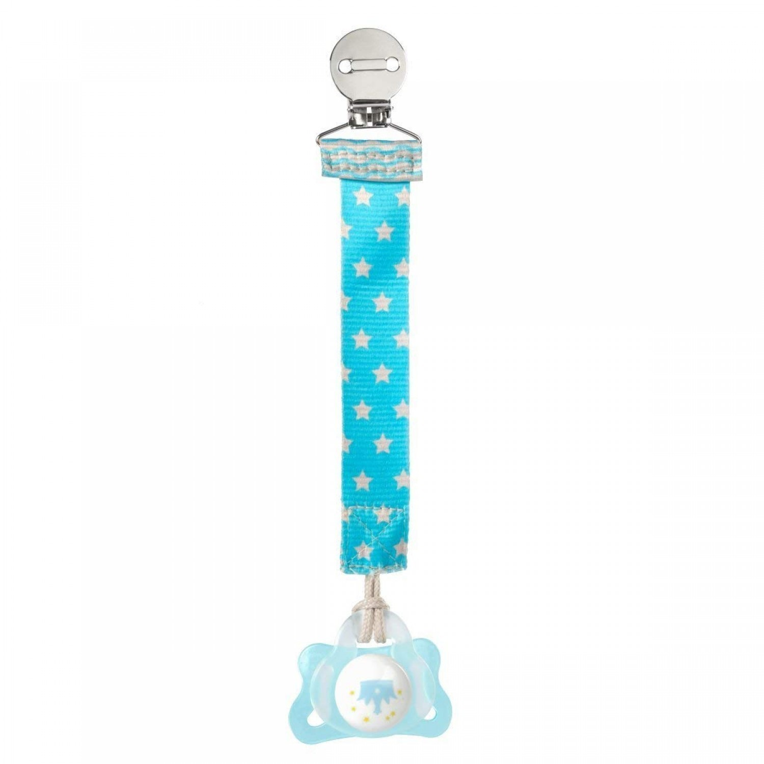 Chicco Soother Chain with Clip Blue