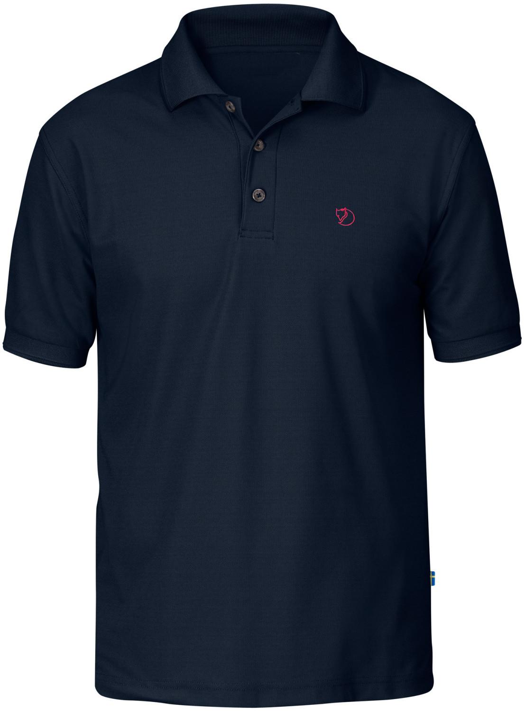 Fjällräven Crowley Piqué Polo Shirt blueblack
