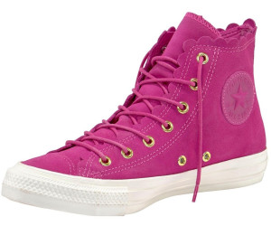 Baskets montantes | CHUCK TAYLOR ALL STAR FRILLY THRILLS SUEDE HI Fuchsia Converse Femme