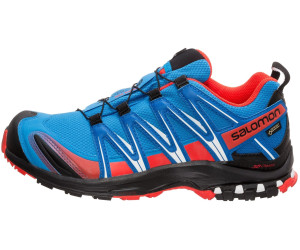 US Salomon Xa Pro 3d Cswp J Kids Running Shoes OrangeBlue