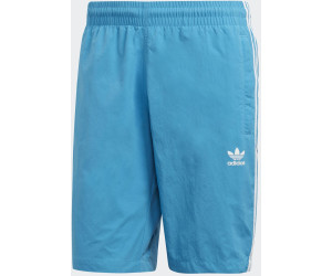 Adidas 3 Stripes Swim Shorts (DZ4590) shock cyan a € 19,90