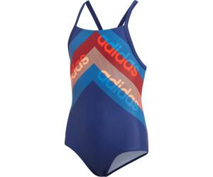 Adidas Lineage Swimsuit (DH2398) dark bluehi res orange ab