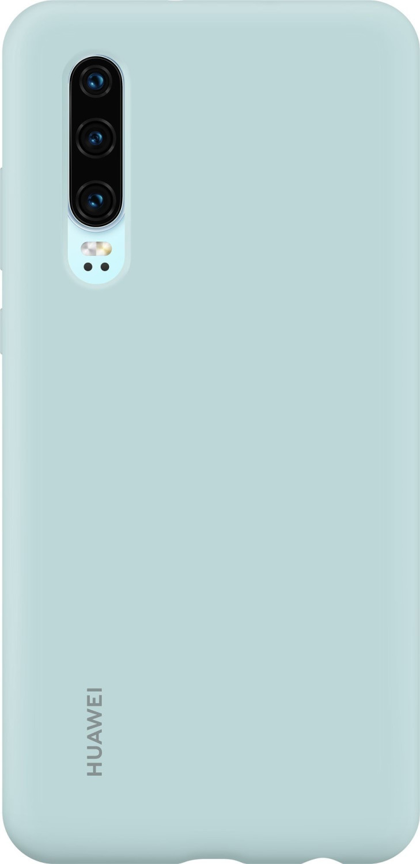 Huawei Silicone Car Case (P30) Light Blue