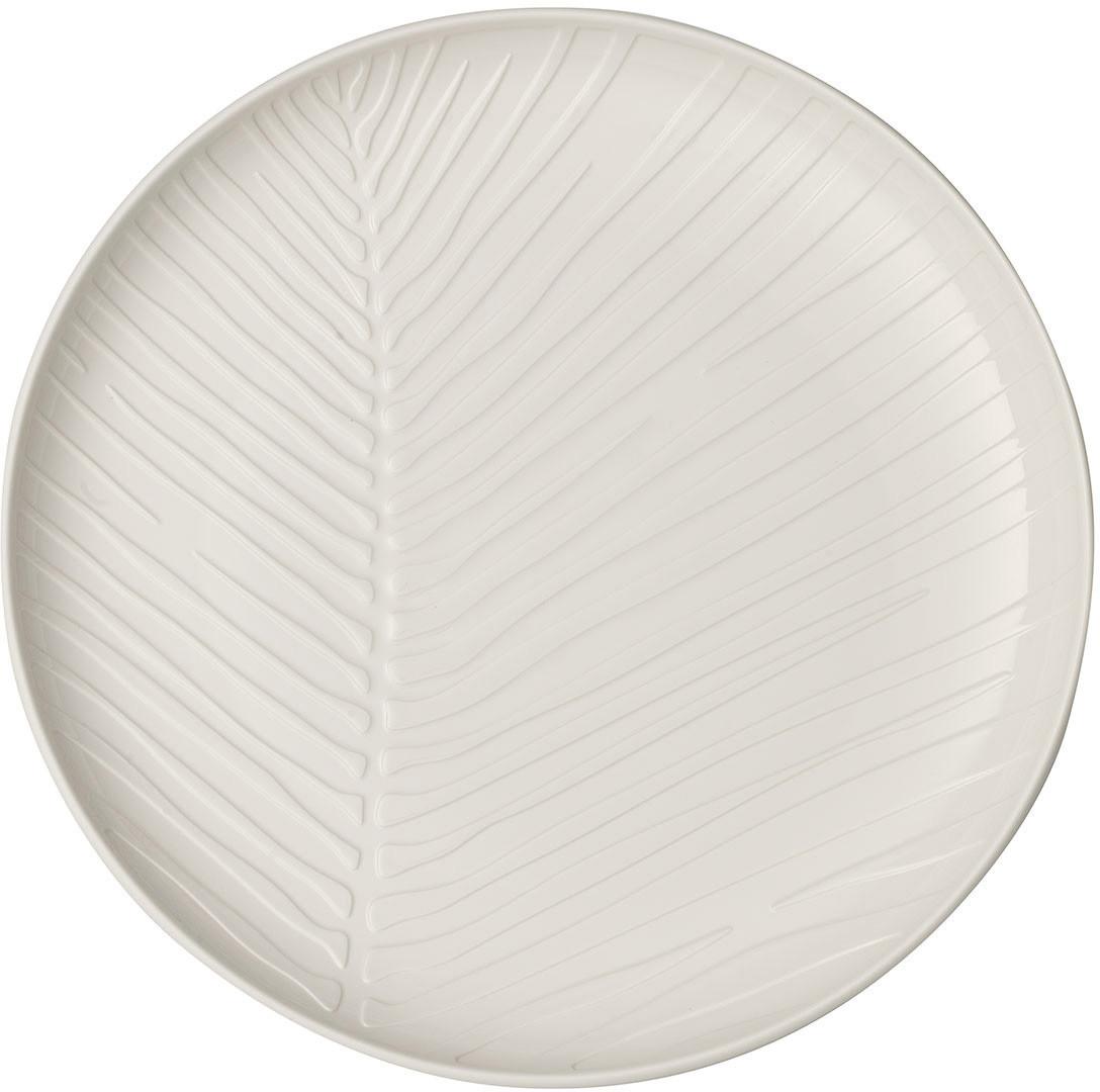 Villeroy & Boch it's My Match Teller Leaf (24 cm) weiß