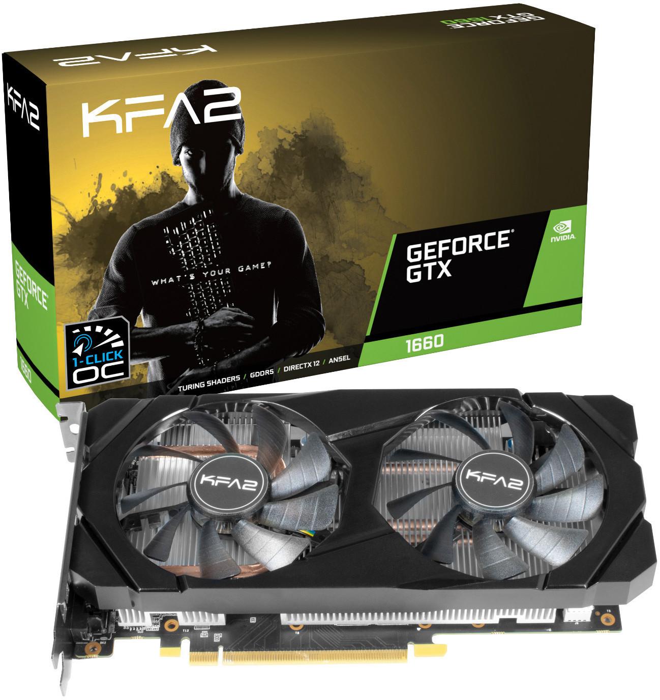Image of Galaxy GeForce GTX 1660 OC 6GB GDDR5