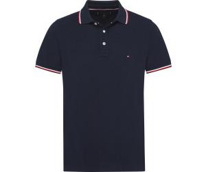 Man/'s Polo Grau// Grey Tommy Hilfiger Herren Polo Shirt Kurzarm Slim Fit