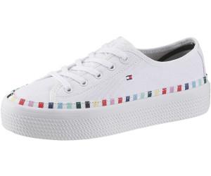 Tommy Hilfiger Damen Low Sneaker Weiss, Größenauswahl:42