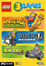 LEGO 3 Games: Racers + Rock Raiders + Insel 2 (PC)