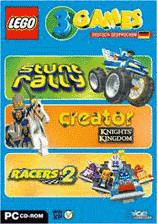 LEGO: 3 Games - Racers 2 +Stunt Rally + Creator...
