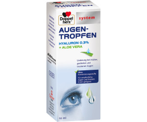 Augen-Tropfen Hyaluron 0,3% + Aloe Vera (10ml)