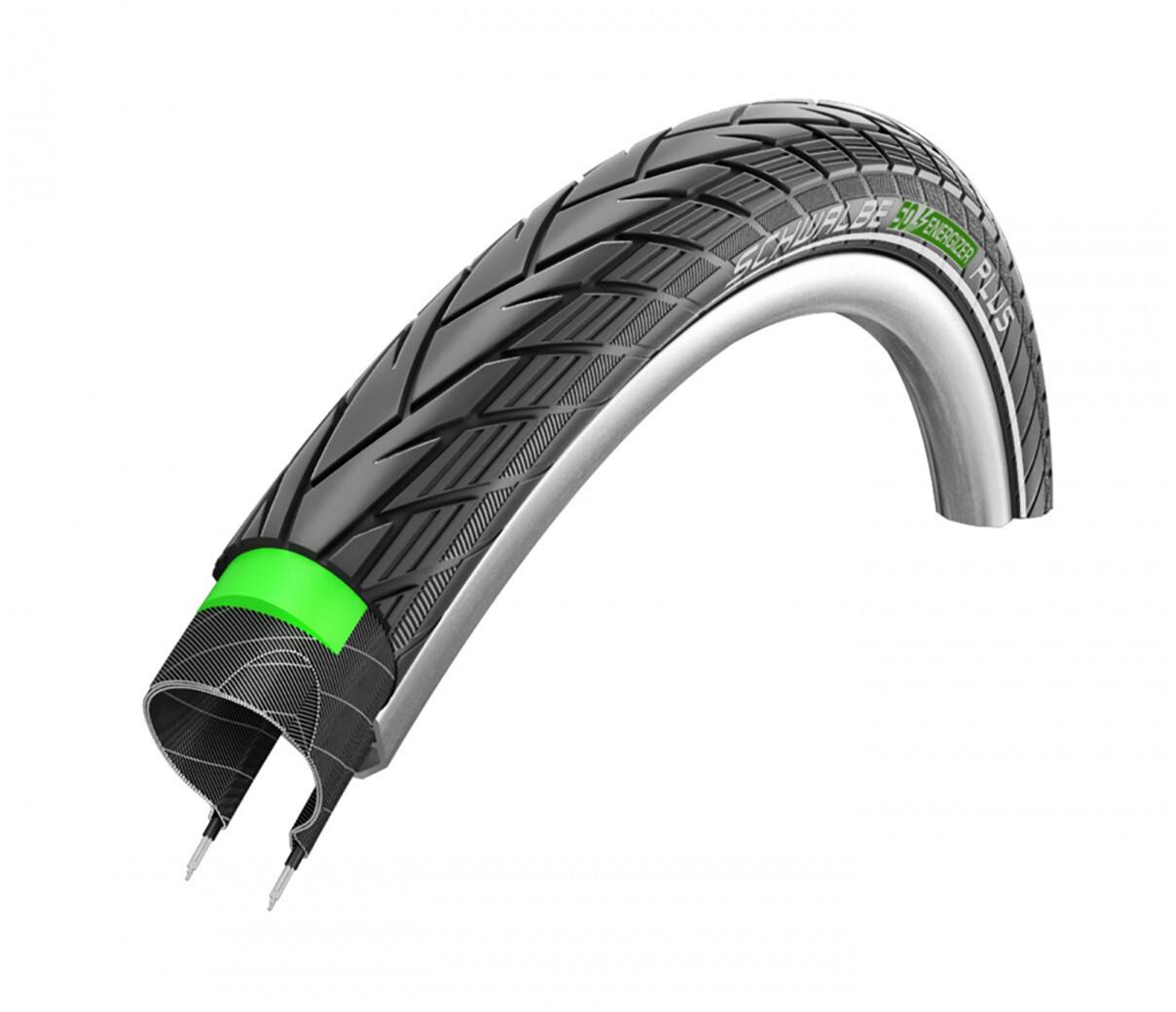 Energizer PLUS, Neumáticos