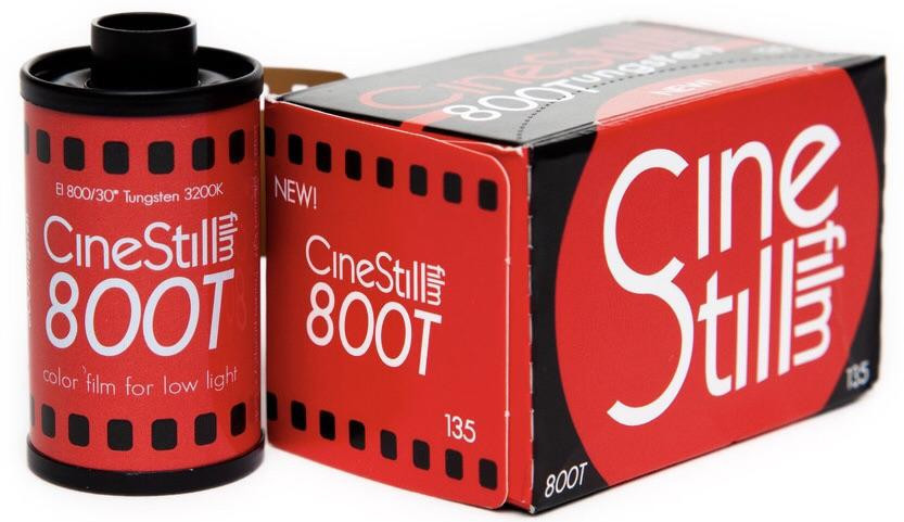 Image of CineStill Film 800Tungsten High Speed Color Film, 35mm 135/36exp.
