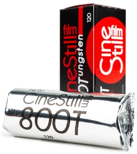Image of CineStill Film 800Tungsten High Speed Color Film, 120 Format (ISO 800)