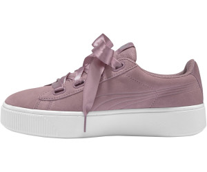 puma vikky stacked ribbon weiß