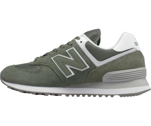 New Balance 574 Essentials Women mineral green with white ab ...