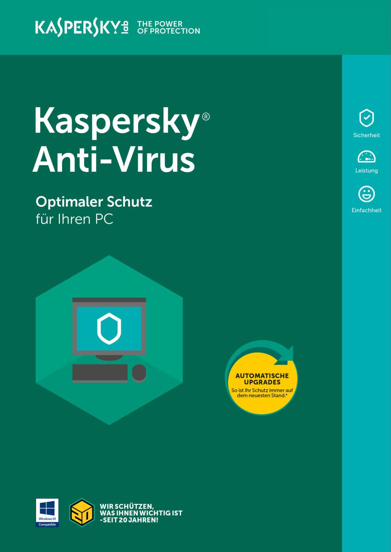 Image of Kaspersky Anti-Virus 2019 (1 Device) (2 Years) (ESD)