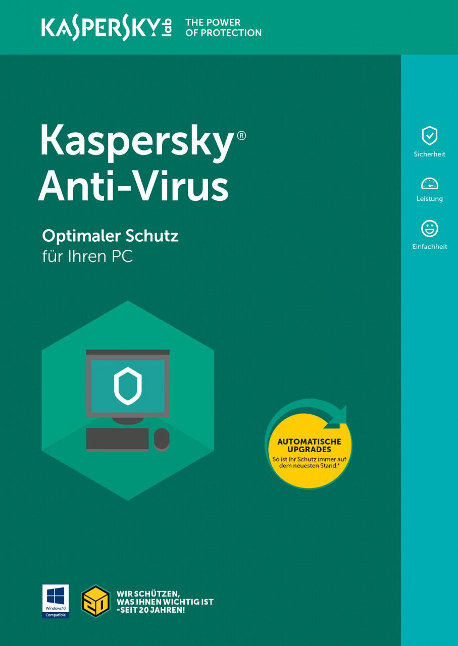 Image of Kaspersky Anti-Virus 2019 Uprade (3 Devices) (1 Year) (ESD)