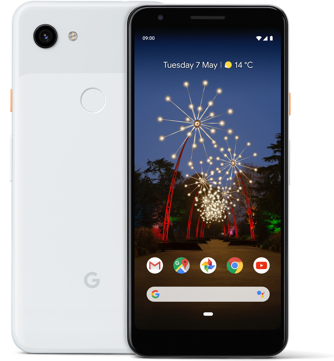 Google Pixel 3a Xl, Smartphone, 64 Gb, Clearly White