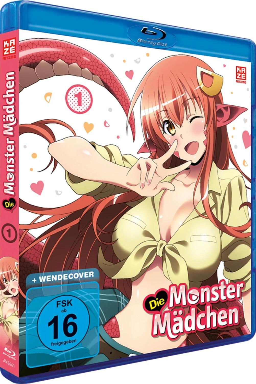 Die Monster Mädchen - Vol. 1 [Blu-ray]