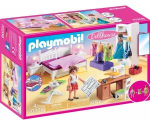 Playmobil Dollhouse - Schlafzimmer mit Nähecke (70208) ab 14 ...