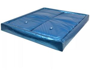 vidaXL Wasserbettmatratzen-Set Hardside voll beruhigt 200x200cm