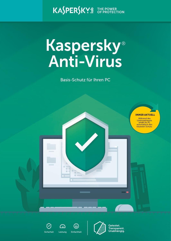 Image of Kaspersky Anti-Virus 2019 (5 Devices) (2 Years) (ESD)