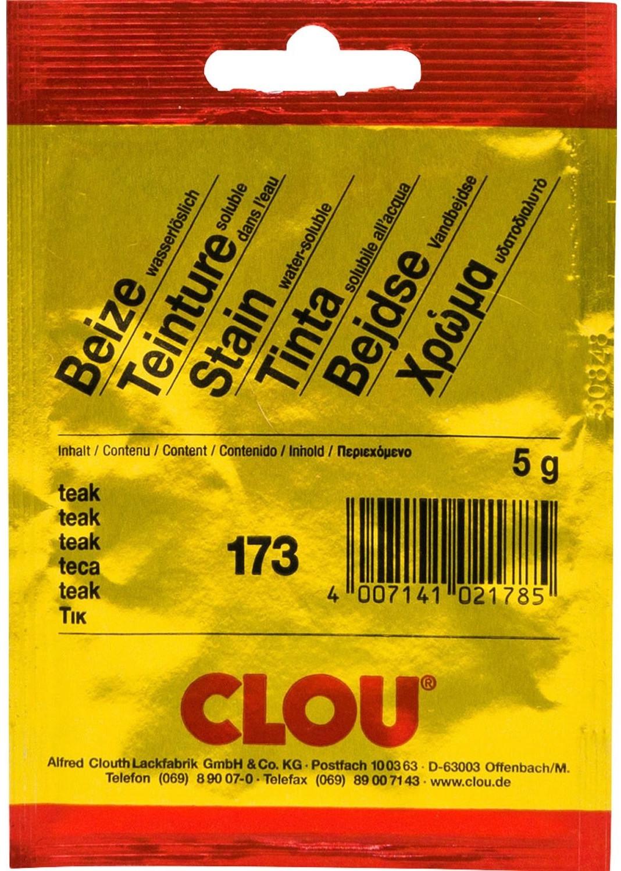 CLOU Beize in Pulver 5 g teak