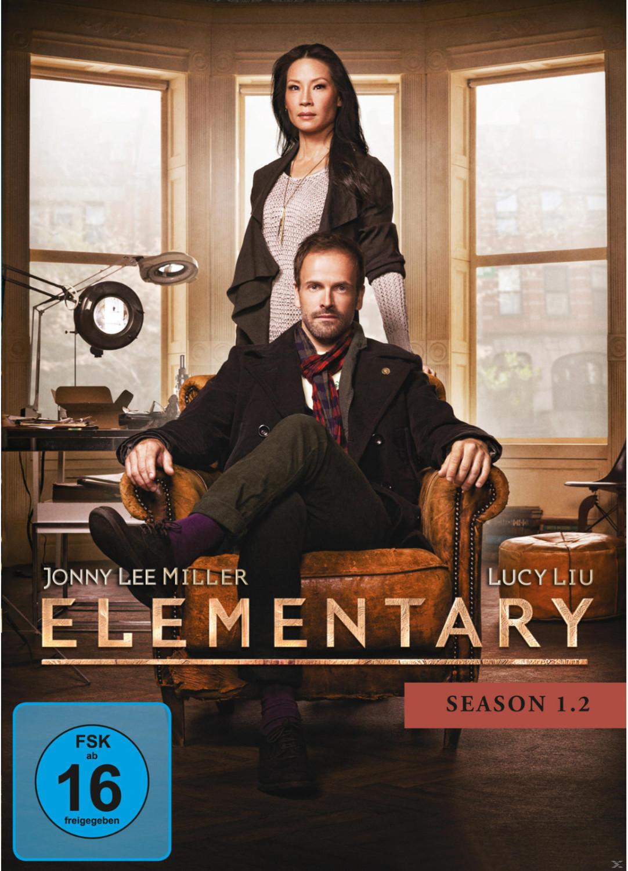 Elementary - Season 1.2 [DVD]