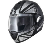 Schwarz//Wei/ß//Rot Gr/ö/ße XL Shark Motorradhelm Hark Evoline 3 Hataum