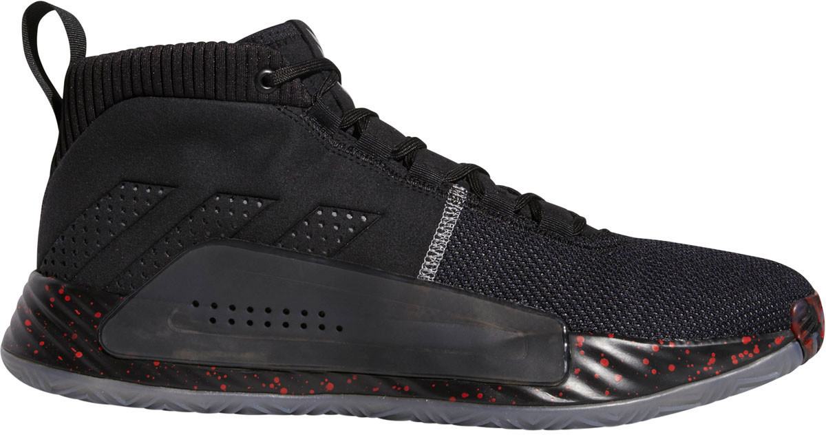 Adidas Dame 5 core black/grey three/grey four