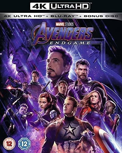 Image of Avengers: Endgame (4K UHD + Blu-ray + Bonus Disk) [2019]