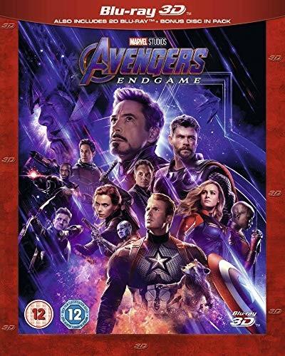 Image of Avengers: Endgame (Blu-ray 3D + 2D + Bonus Disk) [2019]