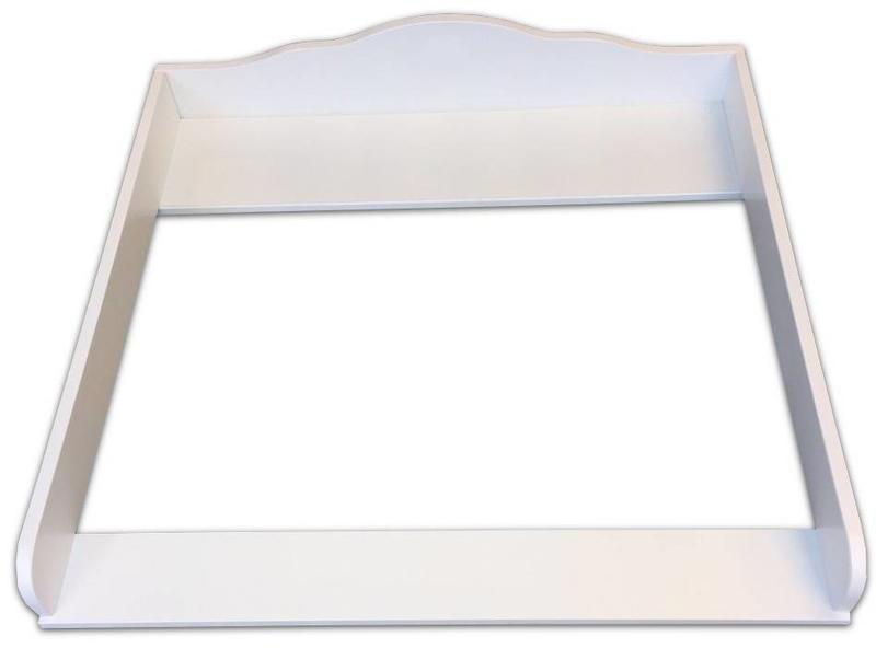 Puckdaddy Wickelaufsatz Wolke 4 für IKEA Malm Kommode weiß