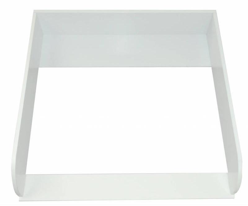 Puckdaddy Wickelaufsatz 15cm hoch für IKEA Malm Kommode weiß