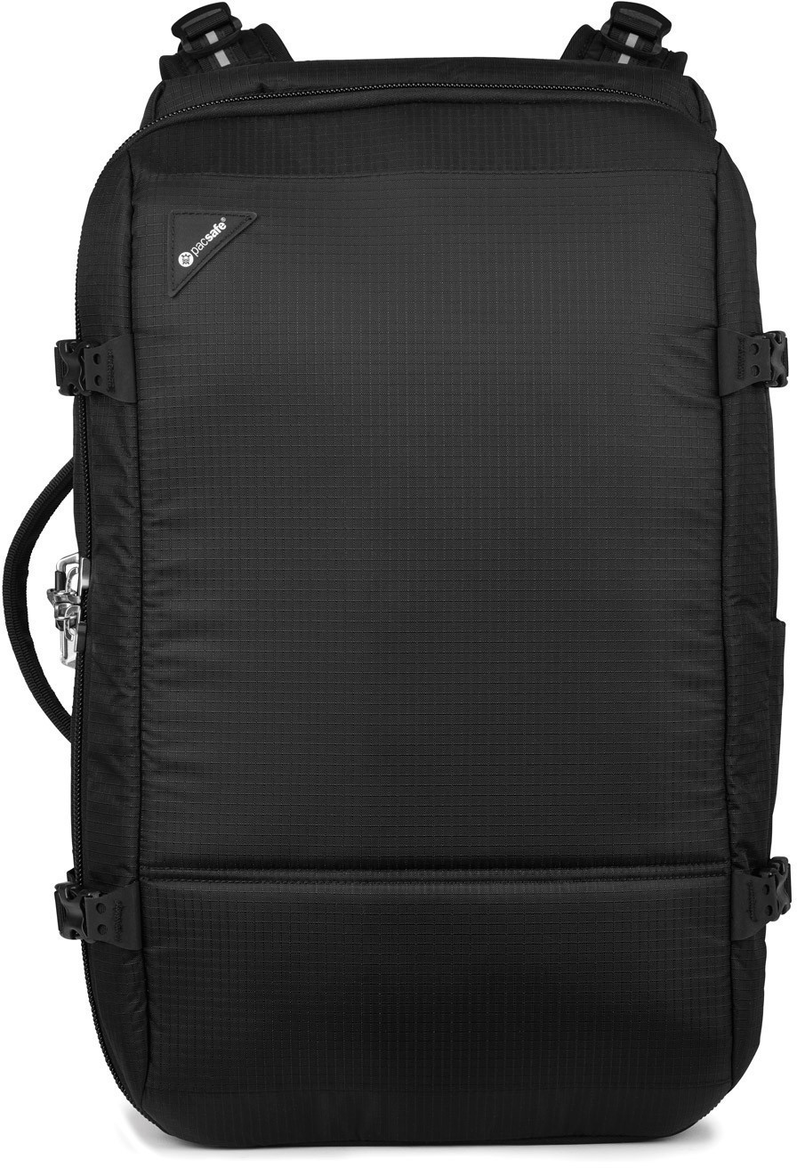 PacSafe Vibe 40 Anti-Theft 40L Carry-On Backpack jet black