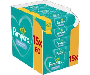 Pampers Fresh Clean Feuchttücher (15 x 80 Stk.)