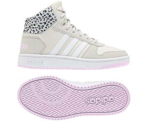Adidas Hoops Mid 2.0 K raw whiteftwr whiteaero pink ab 36