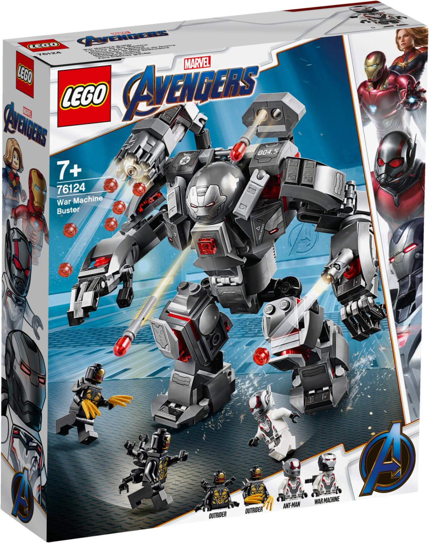 LEGO Marvel Super Heroes - L'armure de War Machine (76124)