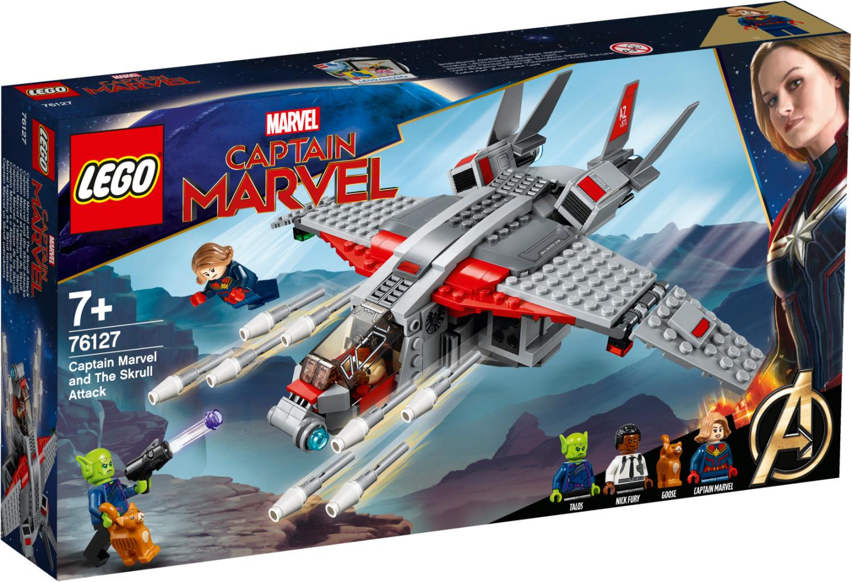 LEGO Marvel Super Heroes - Captain Marvel et l'attaque du Skrull (76127)