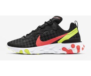 Nike React Element 55 blackhyper crimsonvoltflash crimson