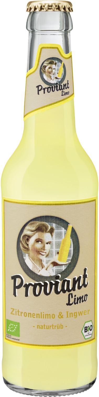 Proviant Ingwer Zitronenlimonade 0,33l